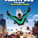 Backkom Bear Agent 008 The Movie Anime DVD Eng Sub Region All