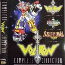 Voltron Sea 1+2 + Movie Fleet of Doom Complete Collection Anime DVD Eng Dub Region All