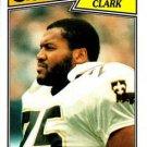 1987 Topps #281 Bruce Clark New Orleans Saints