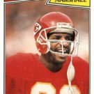 1987 Topps #163 Henry Marshall Kansas City Chiefs