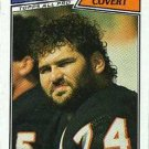 1987 Topps #51 Jim Covert Chicago Bears