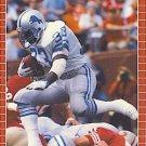 1989 Pro Set #120 Garry James Detroit Lions