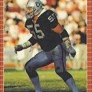 1989 Pro Set #188 Matt Millen Los Angeles Raiders