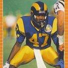 1989 Pro Set #203 Leroy Irvin Los Angeles Rams