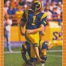 1989 Pro Set #204 Mike Lansford Los Angeles Rams