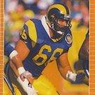 1989 Pro Set #205 Tom Newberry Los Angeles Rams