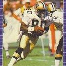 1989 Pro Set #275 Brett Perriman New Orleans Saints