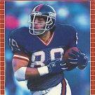 1989 Pro Set #281 Mark Bavaro New York Giants