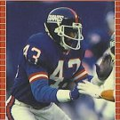 1989 Pro Set #285 Terry Kinard New York Giants
