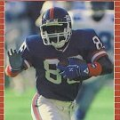 1989 Pro Set #287 Lionel Manuel New York Giants