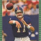 1989 Pro Set #291 Phil Simms New York Giants