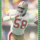 1989 Pro Set #385 Keena Turner San Francisco 49ers