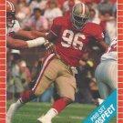 1989 Pro Set #537 Danny Stubbs San Francisco 49ers RC