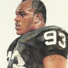 1991 Pro Set #418 Greg Townsend Los Angeles Raiders Pro Bowl