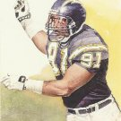 1991 Pro Set #421 Leslie O'Neal San Diego Chargers Pro Bowl