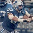 1991 Pro Set #497 Ken Dallafior Detroit Lions