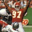 1991 Pro Set #536 Dan Saleaumua Kansas City Chiefs