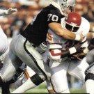 1991 Pro Set #543 Scott Davis Los Angeles Raiders