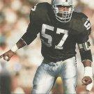 1991 Pro Set #548 Jerry Robinson Los Angeles Raiders