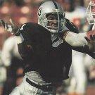 1991 Pro Set #549 Aaron Wallace Los Angeles Raiders