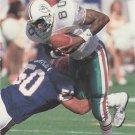 1991 Pro Set #561 Ferrell Edmunds Miami Dolphins