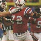1991 Pro Set #580 Tim Goad New England Patriots
