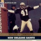 1991 Pro Set #587 Toi Cook New Orleans Saints