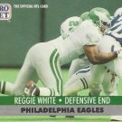 1991 Pro Set #620 Reggie White Philadelphia Eagles