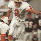 1991 Pro Set #668 Steve Christie Tampa Bay Buccaneers