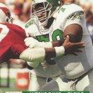 1991 Pro Set #737 Antone Davis Philadelphia Eagles RC
