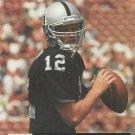 1991 Pro Set #753 Todd Marinovich Los Angeles Raiders RC