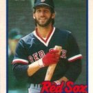 1989 Topps Traded Boston Red Sox Team Set