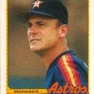 1989 Topps Traded Houston Astros Team Set