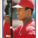 1989 Topps Traded St. Louis Cardinals Team Set