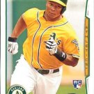 2014 Topps #27 Michael Choice Oakland A's RC