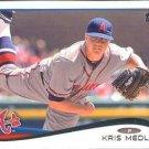 2014 Topps #66 Kris Medlen Atlanta Braves