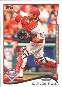 2014 Topps #182 Carlos Ruiz Philadelphia Phillies