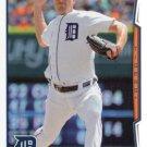2014 Topps #297 Max Scherzer Detroit Tigers