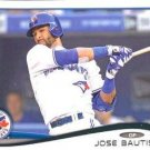 2014 Topps #323 Jose Bautista Toronto Blue Jays