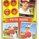 1986 Topps #2 Pete Rose Cincinnati Reds 1963-1966