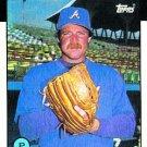 1986 Topps #24 Len Barker Atlanta Braves