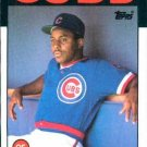 1986 Topps #46 Billy Hatcher Chicago Cubs