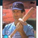 1986 Topps #128 John Wathan Kansas City Royals