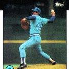 1986 Topps #129 Jeff Dedmon Atlanta Braves