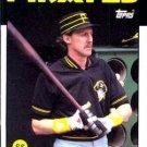 1986 Topps #289 Johnnie LeMaster Pittsburgh Pirates