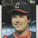 1986 Topps #303 Curt Waddle Cleveland Indians