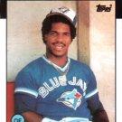 1986 Topps #338 Jorge Bell Toronto Blue Jays