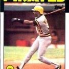 1986 Topps #417 RJ Reynolds Pittsburgh Pirates