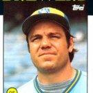 1986 Topps #473 Mark Brouhard Milwaukee Brewers
