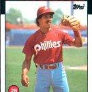 1986 Topps #475 Juan Samuel Philadelphia Phillies